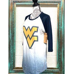 West Virginia- Official Dip-Dye Ombré 3/4 sleeve